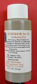 No.78 Stainless Soldering Flux Gel